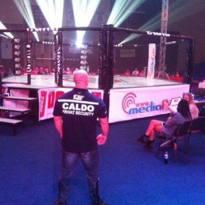Caldo Privat Security la BLACK CAGE Tournament