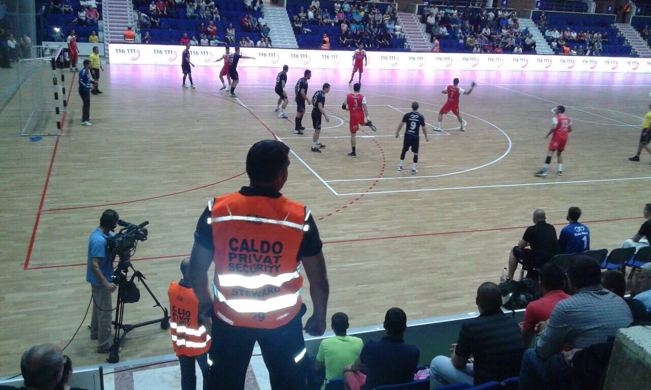 Supercupa Romaniei la Handbal – Paza asigurata de agentii Caldo Privat Security