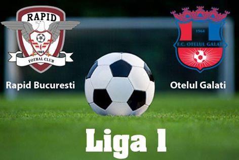 CALDO PRIVAT SECURITY asigura paza si protectia la meciul de fotbal dintre FC Rapid Bucuresti si FC Oţelul Galaţi
